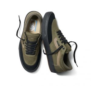 vans gilbert crockett olive